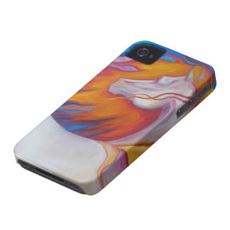 Colorful Horse iPhone 4 Case-Mate Cases