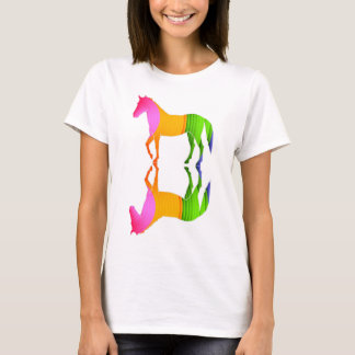 Colorful horse. T-Shirt