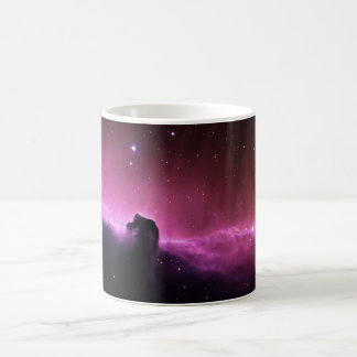 Colorful horsehead nebula coffee mug