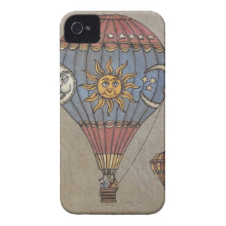 Colorful Hot Air Balloon iPhone 4 Case-Mate Cases