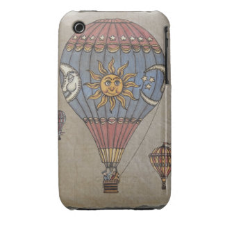 Colorful Hot Air Balloon iPhone 3 Cases