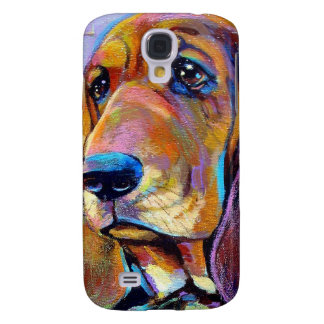 Colorful Hound Dog Galaxy S4 Case