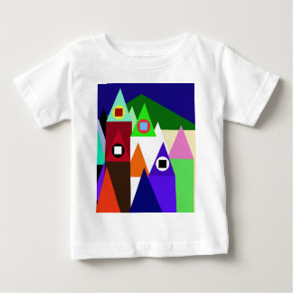 Colorful houses baby T-Shirt