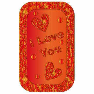 Colorful - I Love You - Design Standing Photo Sculpture