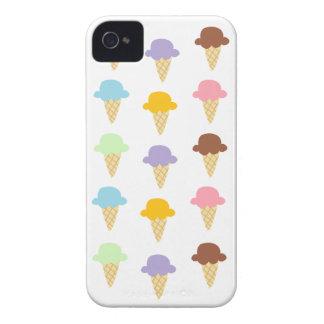 Colorful Ice Cream Cones iPhone 4 Case-Mate Cases