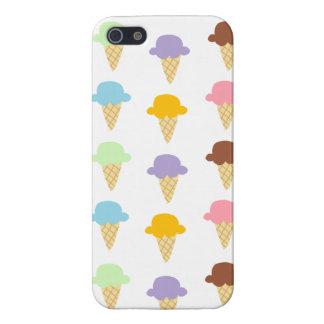 Colorful Ice Cream Cones iPhone 5 Case