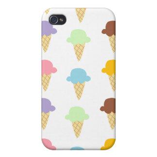 Colorful Ice Cream Cones Case For iPhone 4