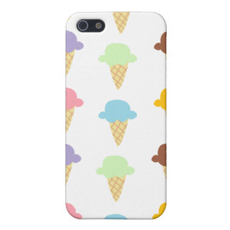 Colorful Ice Cream Cones iPhone 5 Covers