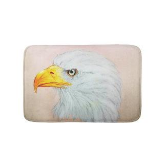 Colorful illustrated bath mat - Eagle