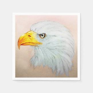 Colorful illustrated set of napkins - Eagle Disposable Napkin