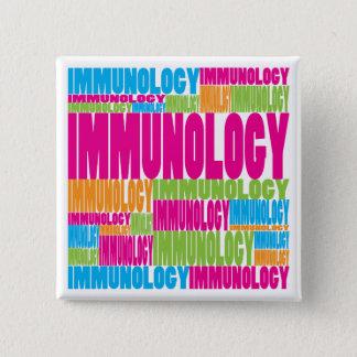 Colorful Immunology 15 Cm Square Badge