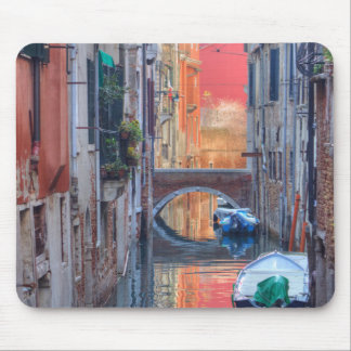 Colorful Impression Of Venice Italy Mouse Pad
