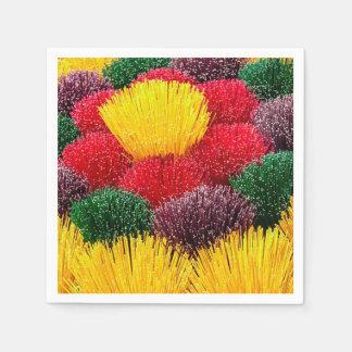 Colorful Incense DOD Party Paper Napkins Disposable Serviette