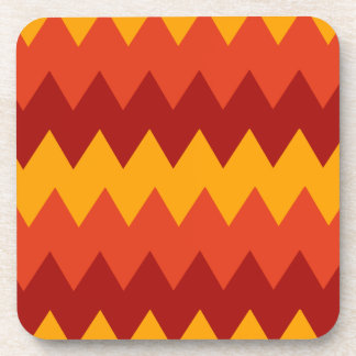 Colorful Indian Rug Pattern Coaster