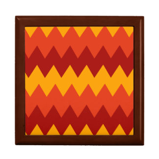 Colorful Indian Rug Pattern Gift Box