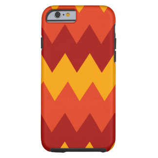 Colorful Indian Rug Pattern Tough iPhone 6 Case