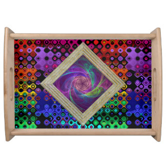 Colorful Infinity Serving Tray