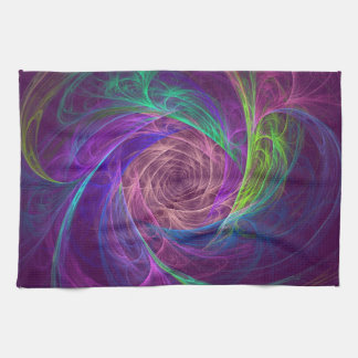Colorful Infinity Tea Towel