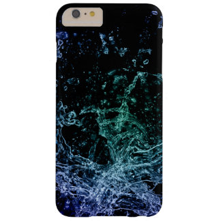 colorful ink and water splash barely there iPhone 6 plus case