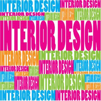 Colorful Interior Design Photo Sculptures