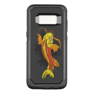 Colorful Japanese Koi OtterBox Commuter Samsung Galaxy S8 Case