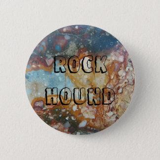 Colorful Jasper Stone 6 Cm Round Badge