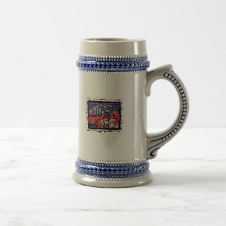 **Colorful Jazz** Beer Stein