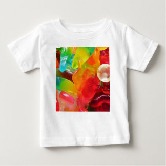 colorful jelly gum texture baby T-Shirt
