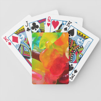 colorful jelly gum texture poker deck