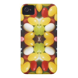 Colorful Jellybean Fractal iPhone 4 Case