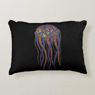 Colorful Jellyfish Decorative Cushion