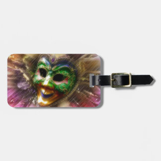 Colorful Jester Luggage Tag