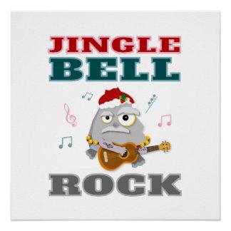 Colorful Jingle Bell Rock Christmas Poster