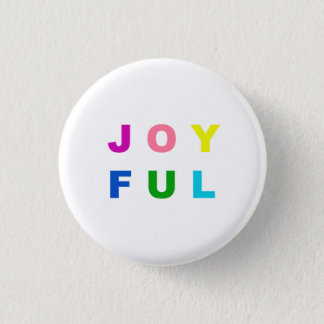 Colorful Joyful Christmas Pin