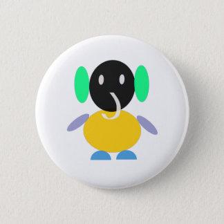colorful Jumbo 6 Cm Round Badge