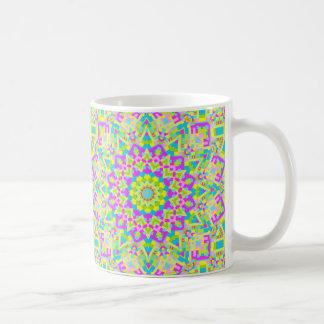 Colorful Kaleidoscope 02 Basic White Mug
