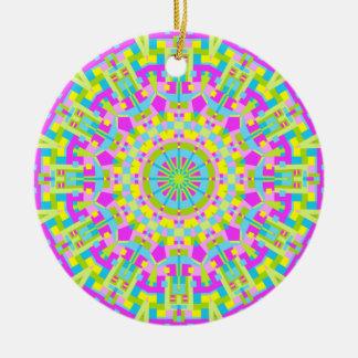 Colorful Kaleidoscope 05 Christmas Tree Ornaments