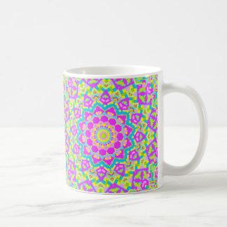 Colorful Kaleidoscope 09 Basic White Mug