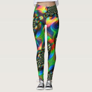 Colorful Kaleidoscope Leggings