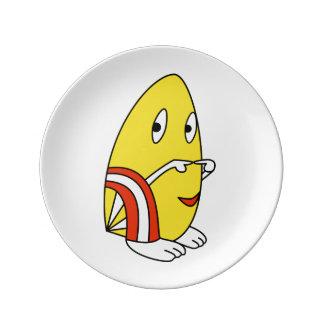 Colorful kawaii cute cartoon character plates porcelain plate