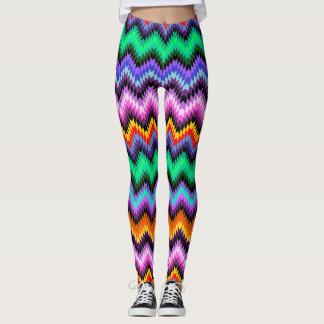 colorful kilim leggings