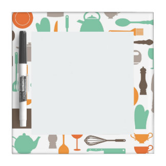 Colorful Kitchen Dry Erase Board