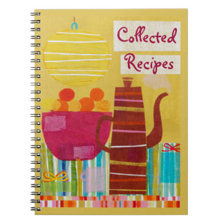 Colorful Kitchen Recipe Journal