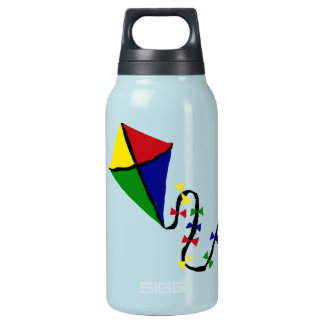 Colorful Kite Flying Art Insulated Water Bottle