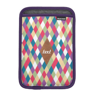 colorful kite pattern iPad mini sleeve