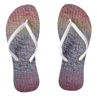 Colorful Knit Thongs