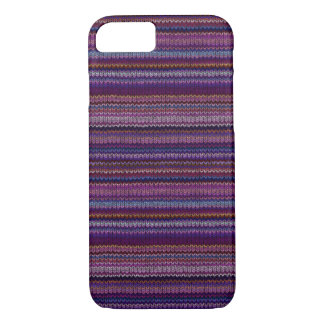 Colorful Knitted Pattern iPhone 8/7 Case