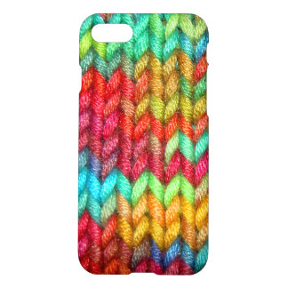 Colorful Knitters Yarn iPhone 8/7 Case