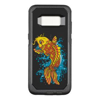 Colorful Koi Fish OtterBox Commuter Samsung Galaxy S8 Case