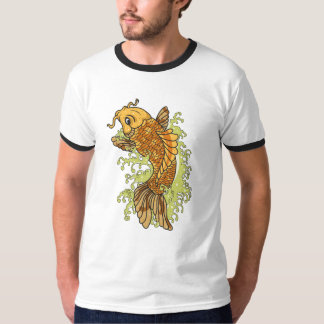 Colorful Koi Illustration T-Shirt